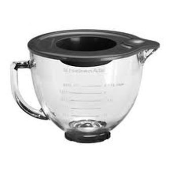 Picture of KitchenAid Artisan Stand Mixer - Glass Bowl 4.83L (incl. bowl cover)