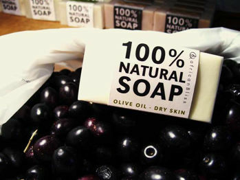 Picture of Soap Bar - Natural - Olive Oil - African Bliss